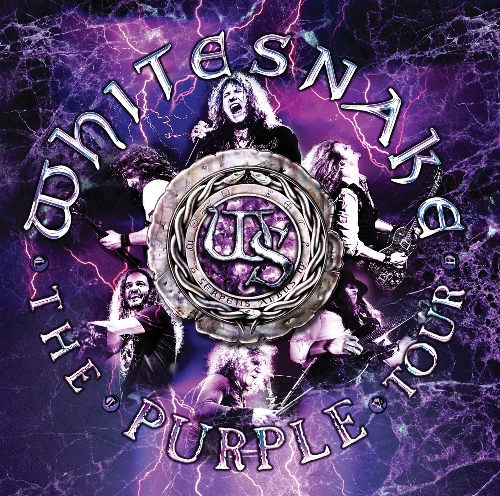 THE PURPLE TOUR CD + DVD