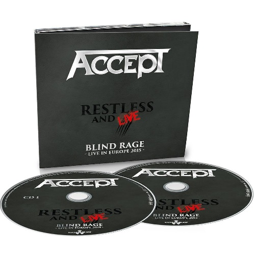 Restless and live - Blind rage - Live in Europe 20 2 CD DIGI