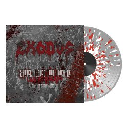 Shovel headed tour machine CLEAR/WHITE/RED SPLATTER VINYL LP