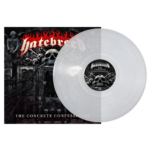 The concrete confessional CLEAR VINYL LP