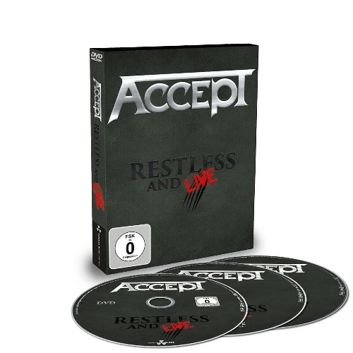 Restless and live DVD + 2CD