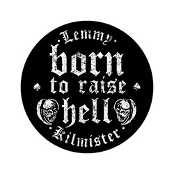Born to Raise Hell NÁŠIVKA ZÁDA