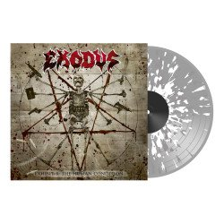 Exhibit B: The human condition CLEAR/WHITE/GREY SPLATTER VINYL LP