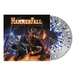 Crimson thunder CLEAR/BLUE/WHITE SPLATTER VINYL LP