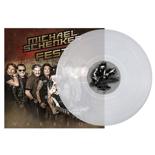Warrior CLEAR VINYL MINI LP