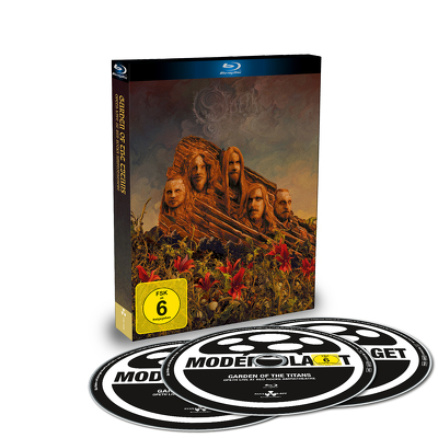 Garden Of The Titans BLU-RAY + 2 CD DIGI