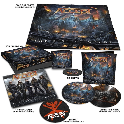 The rise of chaos CD-DIGI + 2LP PICTURE
