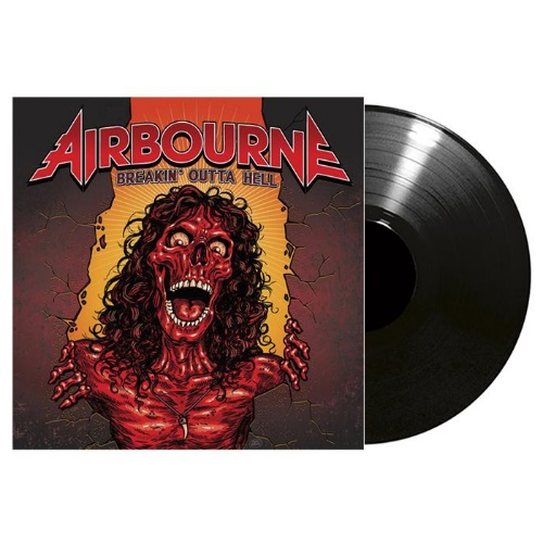 Breakin' outta hell BLACK VINYL LP